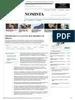 Manufactura Es El Sector Más Dinámico de México _ El Economista