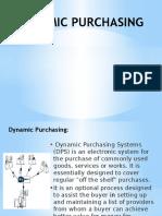 Dynamic Purchasing
