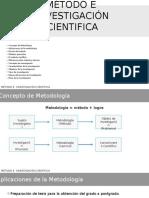 Método e Investigación Cientifica