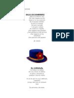 Canciones y Poesias Carnaval