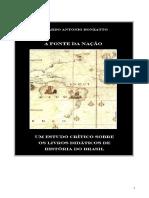 A Fonte Da Nação- Um Estudo Crítico Sobre Os Livros Didáticos de História Do Brasil- Eduardo Bonzatto