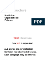 text structure ppt