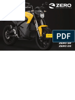 2014 Zero Owners Manual S SR DS