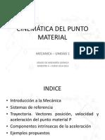 Tema 1 - Cinemática Del Punto Material