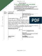 Contoh Surat HMI Yang Benar