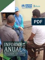 ACNUR Reporte Ecuador