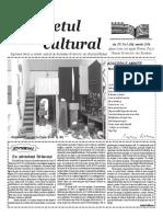 Răsunetul cultural martie 2016
