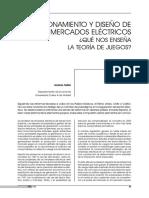 Modelos de Mercados Electricos