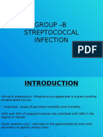 Group –b Streptococcal Infection
