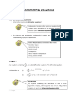 Chapter 1 - Differential Equations