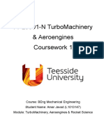 Turbomachinery & Aeroengines Coursework 1 Latest