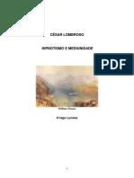 Cesar Lombroso Hipnotismo e Mediunidade