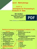 Data Analysis Techq.