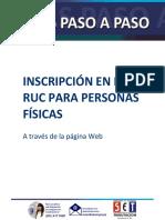 Paraguay - Inscripción en el Ruc Personas Físicas