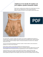 Che permettono di migliorare il tuo livello di Comfort con l'acquisto di Innerwear migliore qualit? femminile Online