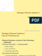 Strategic Reward Systems