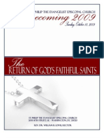 St. Philip Episcopal Church 122nd Homecoming Program (2009)