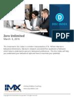 DISC Zero Unlimited