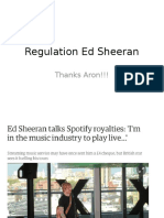 Regulation Spotify Ed