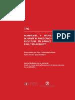 Tfg.materiales y Técnica Empleados Durante El Moldeado y Cop