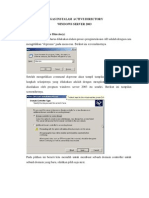 Tugas Instalasi Active Directory
