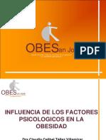 Influencia de Los Factores Psicologicos en La Obesidad