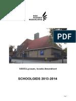 Schoolgids 2013-2014 Amersfoort (Versie 5)