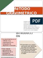MéTODO GRAVIMETRICO