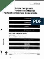 1070-1995 Modular Restoration Structures