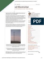 Electricidad_electricitat_ Protección c...Retensiones en Líneas de Alta Tensión.