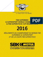 2016 SBK SS SST World Championship and Cup Regulations