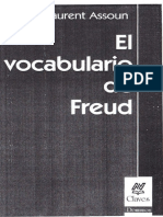 ASSOUN, Paul-Laurent. El vocabulario de Freud