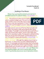 Building Paragraph Suzie 2016