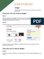 Manual Crear Web en Formato Blog
