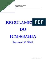 Decreto 2012 13780 Ricms Texto