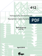 Voltage Dip Immunity of Equipment and Installations