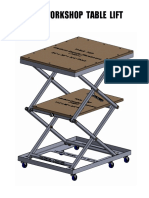 Lift Table DIY Plans