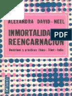Inmortalidade Y Reencarnacion Alexandra DavidNeel