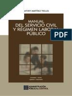 Manual Del Servicio Civil y Régimen Laboral Público, 2014, GJ 614p.