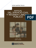 Manual Del Servicio Civil y Régimen Laboral Público, 2014, GJ 614p.