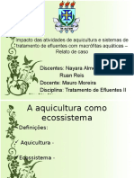 Apresentação - Aquicultura