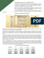 Sistema de Numeración Maya y Números Mayas