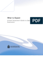 A Crown Corporation's Guide to a Special Examination