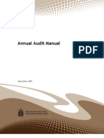 Annual Audit Manual AG Canada