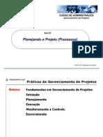 5 - Planejando o projeto