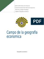 Geografia economica.