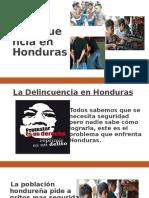 La Delincuencia en Honduras