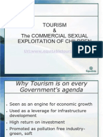 Tourism and the Sexual Exploitation of Children