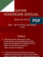 Pencegahan Kekerasan Seksual