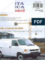 ManualTaller Transporter T4 1.9TD y 2.5TDI